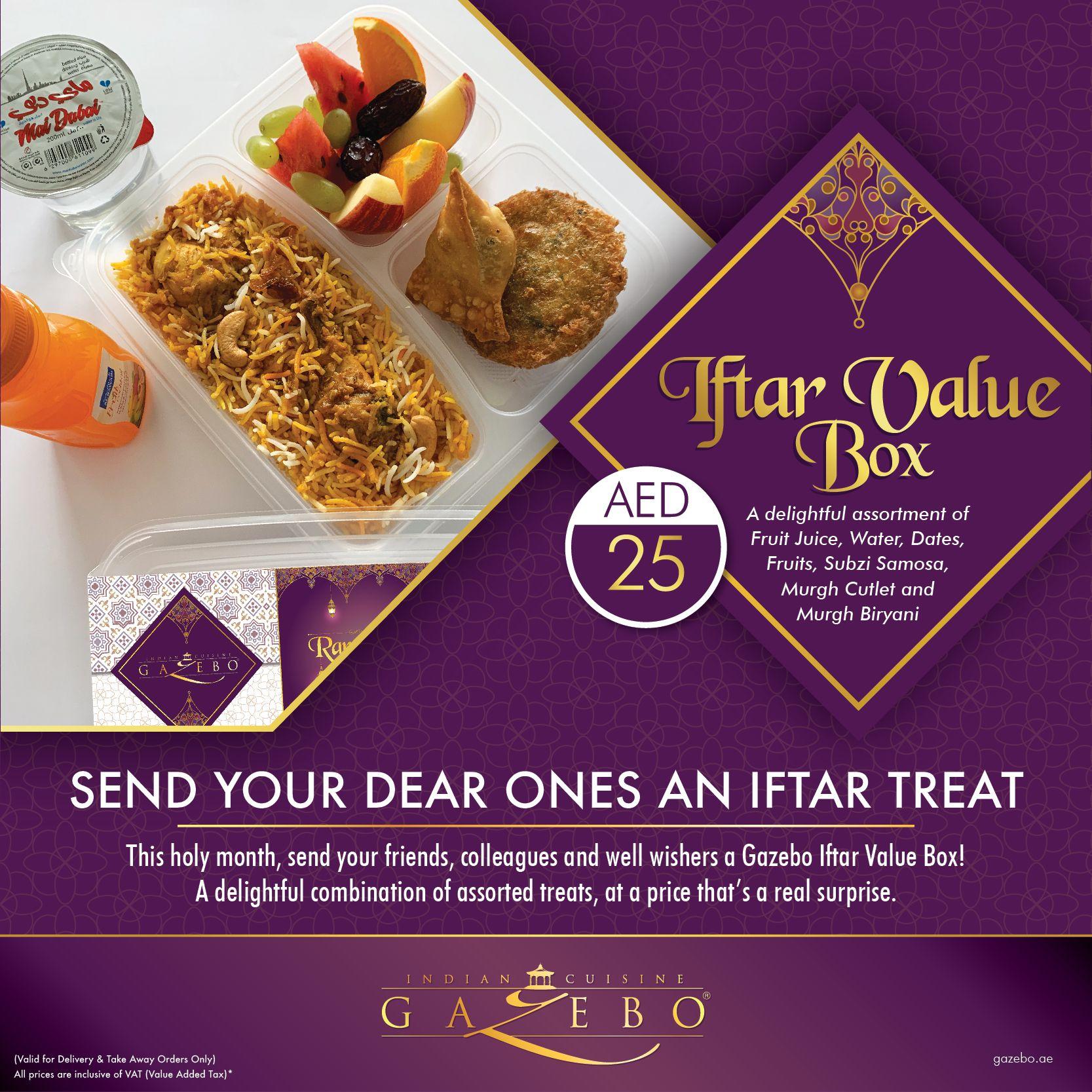 Send Your Dear Ones An Iftar Treat Indiancuisine Uae Dubai