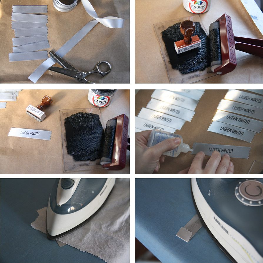 weekend diy: how to make your own clothing labels — Lauren Winter -   19 DIY Clothes For Winter fabrics ideas