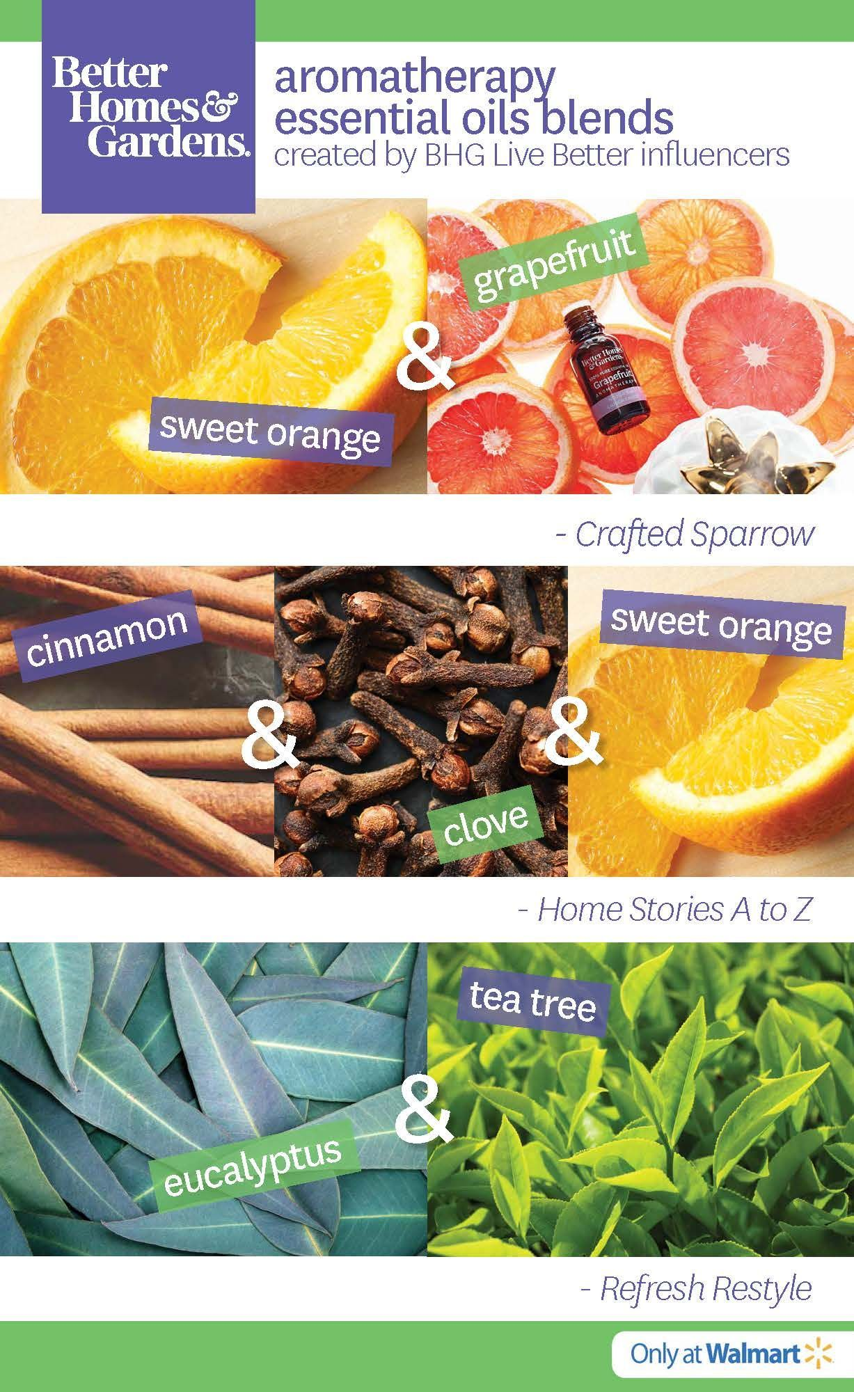 Better Homes And Gardens Aromatherapy Oils