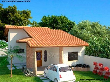Casas modernas peque as de una planta con terreno de for Casas modernas economicas