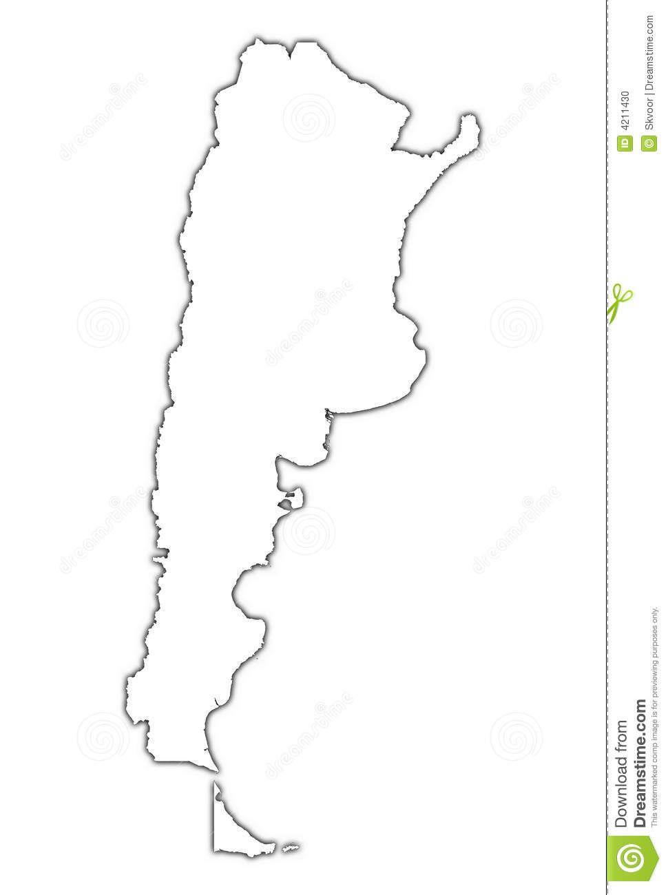 Argentina Map Outline Google Search Evita Pinterest - Argentina map outline