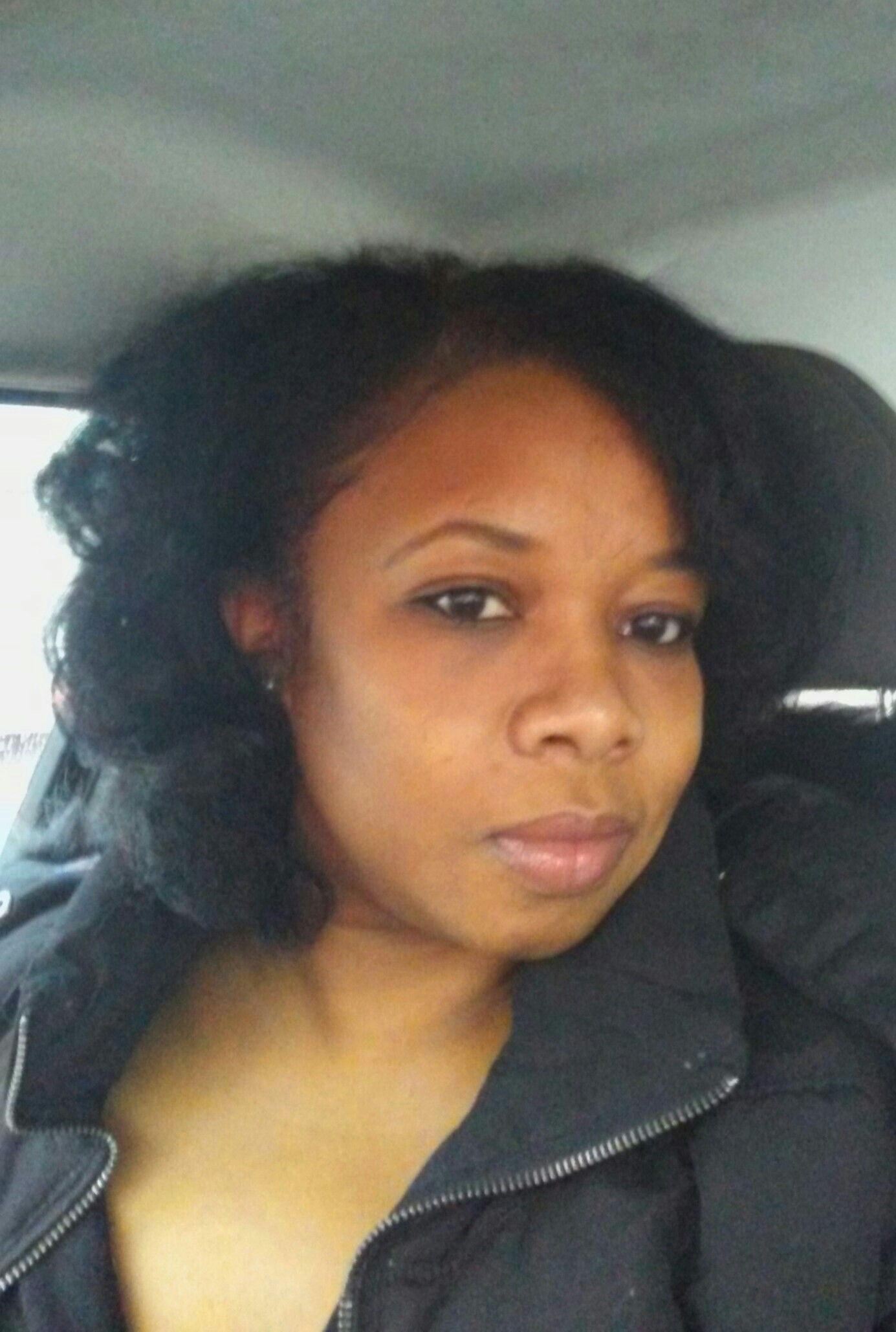 No blow dryer no flat iron  just roller set on natural hair  hair