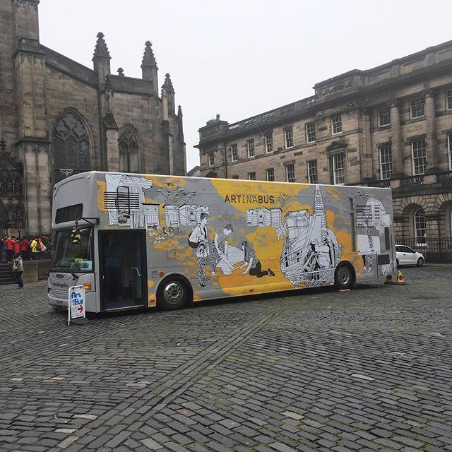 Art In A Bus  #ArtinaBus #StGilesCathedral #Edinburgh #Scotland #igedinburgh #igersedinburgh #potd #thisisedinburgh #exploringedinburgh #visitedinburgh #loveedinburgh #edinphoto #instaedinburgh #myedinburgh #EndearingEdinburgh