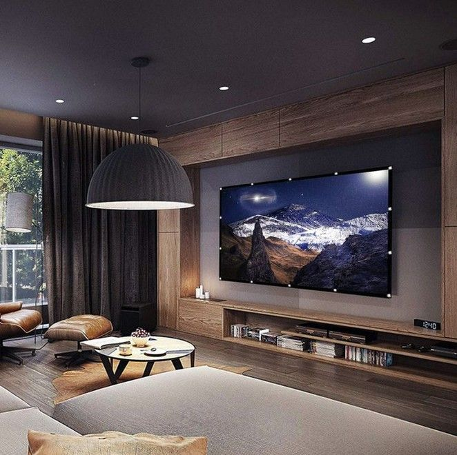 30 Modern Living Room Ideas That Will Inspire You 2020 Modern Tv Room Living Room Design Modern Living Room Tv Wall