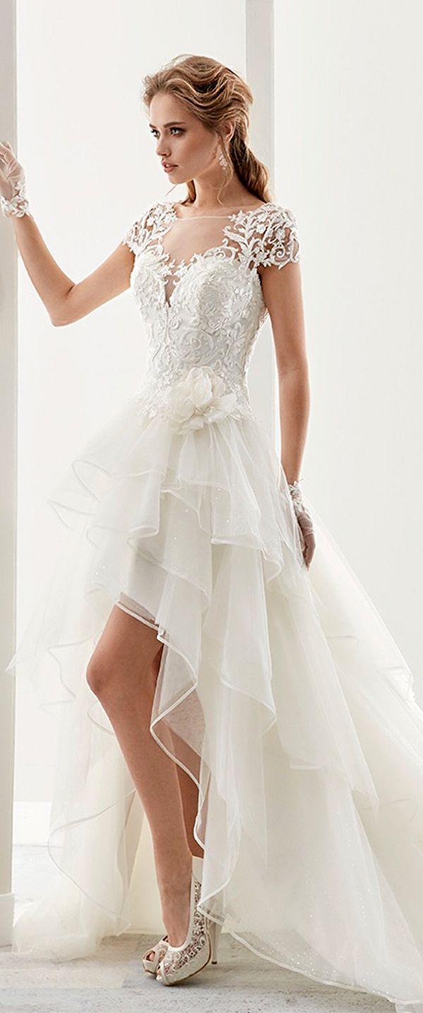 Attractive tulle u satin bateau neckline aline hilo wedding