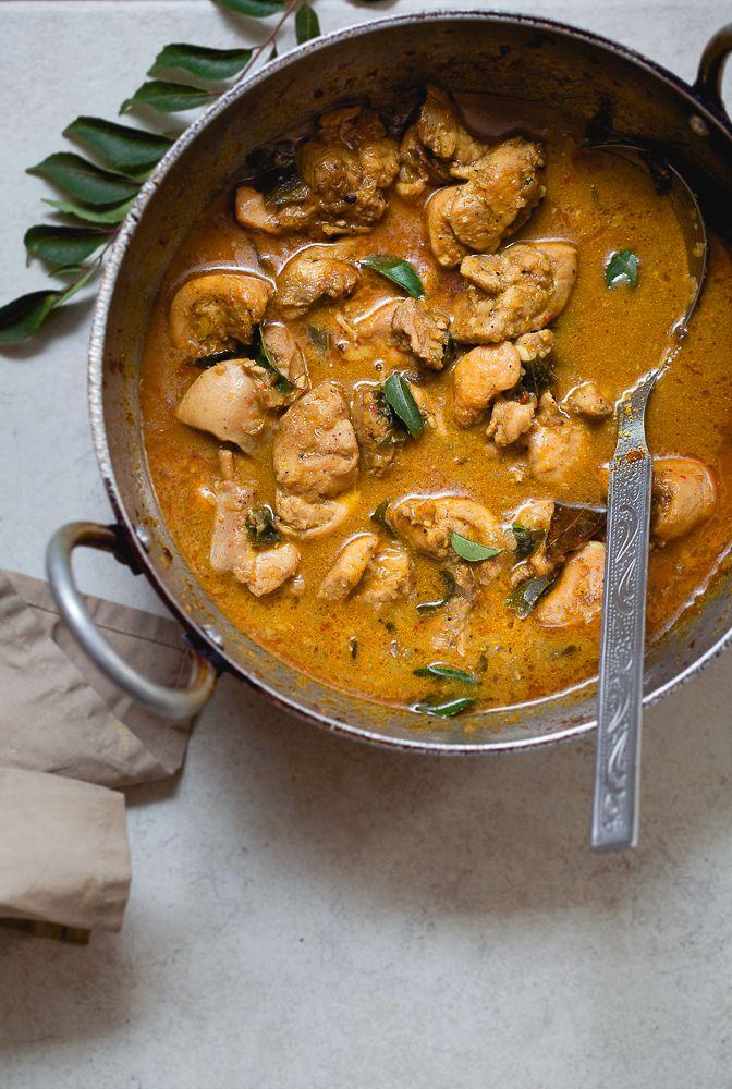 Coconut Milk Chicken Curry - Spicy