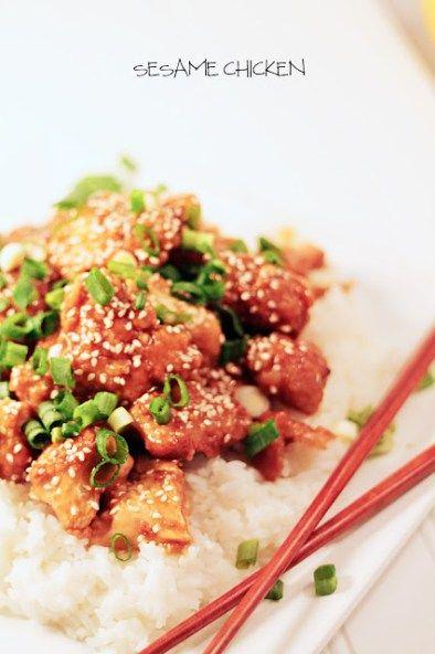 pf chang's sesame chicken  recipe  chicken recipes