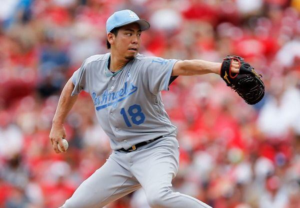 前田健太が今季5勝目、久々の先発で5回を1失点に抑える