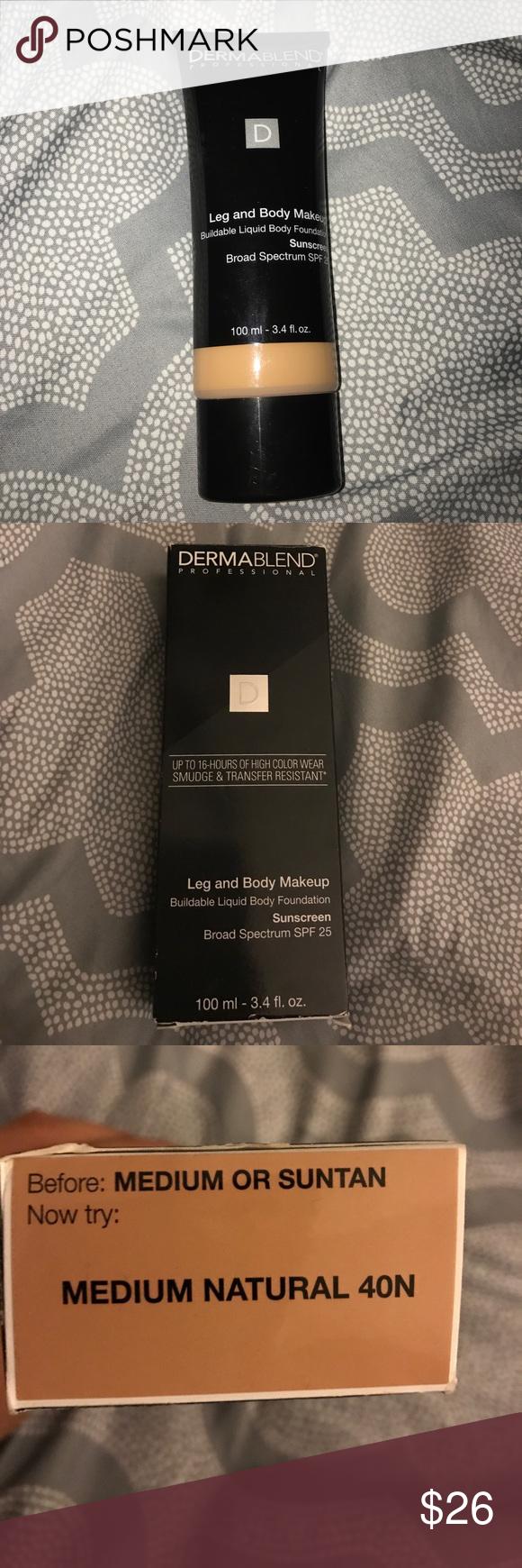 Dermablend Dermablend, Body makeup, Body sunscreen