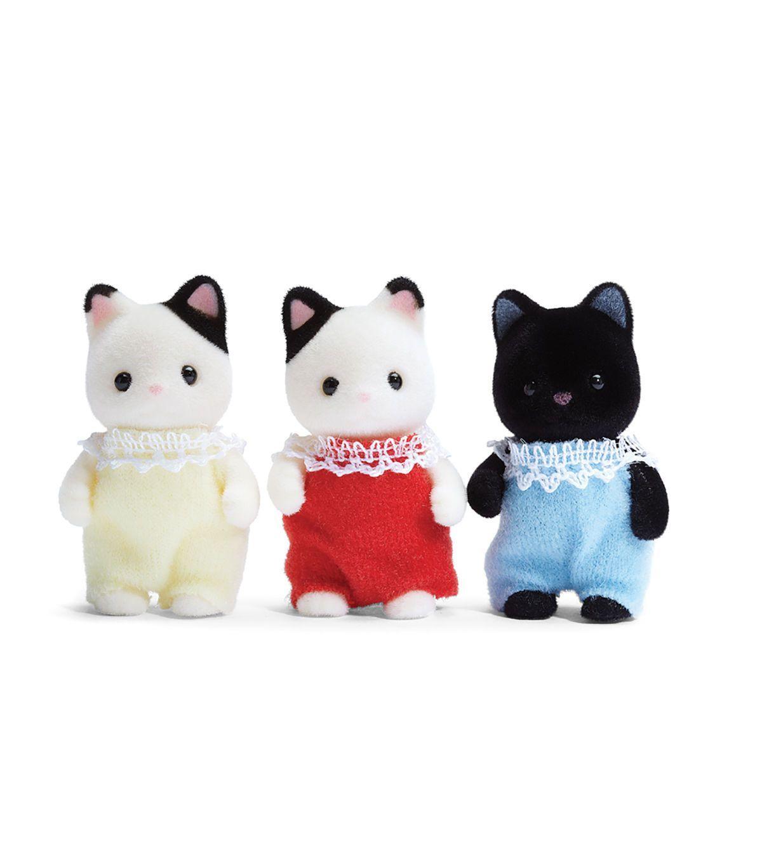 Calico Critters Tuxedo Cat Triplets | JOANN