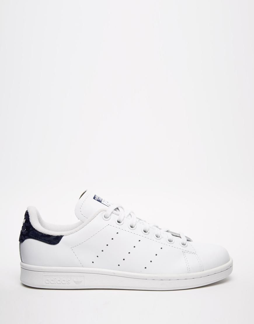 vente chaude en ligne a0b7e 25b72 Adidas | Adidas Originals - Stan Smith - Baskets - Noir et ...