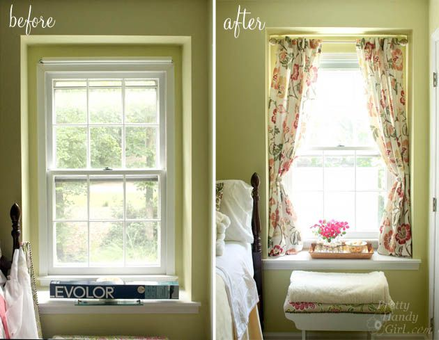 Curtains Ideas blinds or curtains : Installing Blinds and Window Treatments | Pretty Handy Girl | Just ...