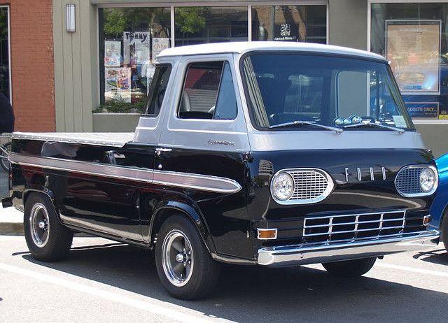 Ford Econoline Pickup Trucks Vintage Trucks Pickup Trucks