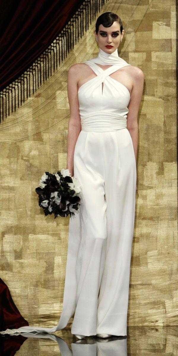 Convertible Wedding Dress Pantsuit