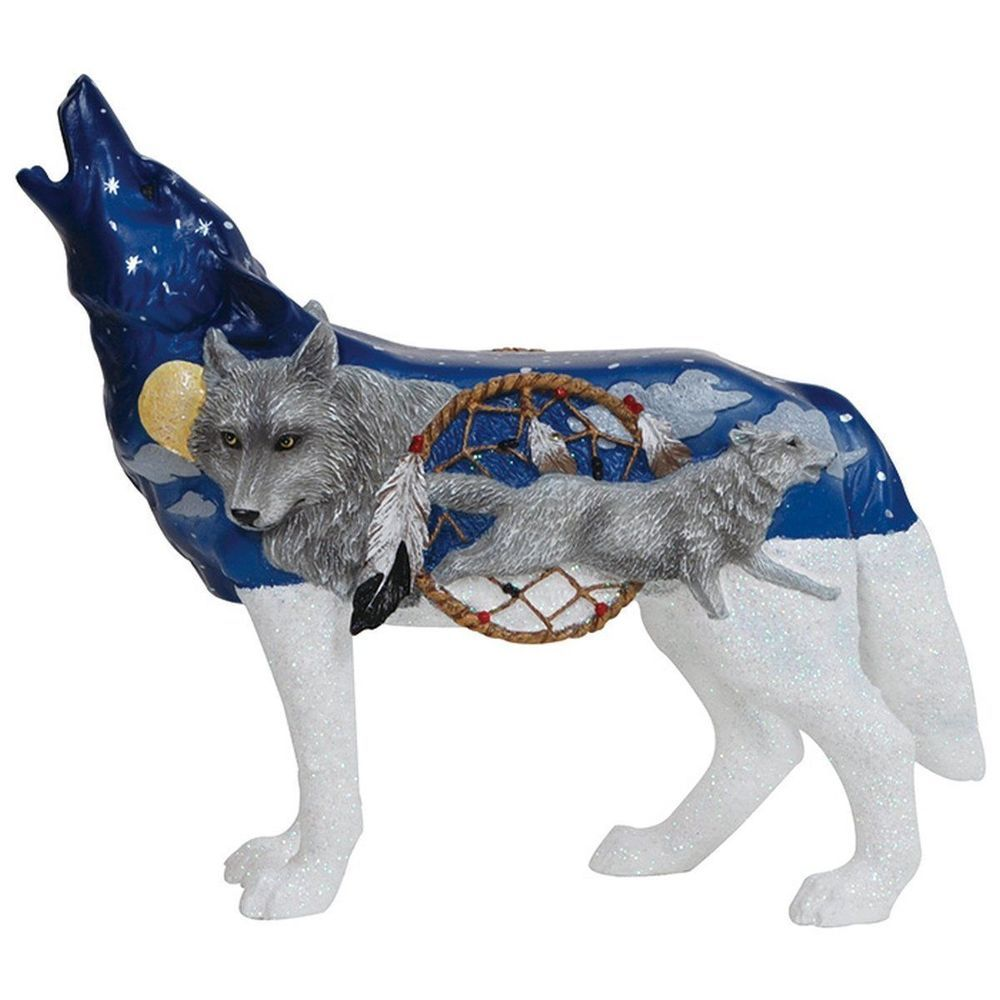 Call of the Wolf Spirit Of The Wolf Collectible Figurine #19334