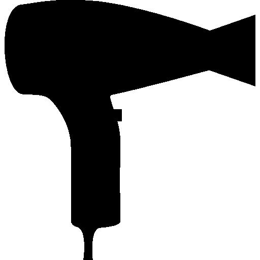 Baixe Vista Lateral Silhueta Secador De Cabelo Gratuitamente Free Icons Silhouette Silhouette Art