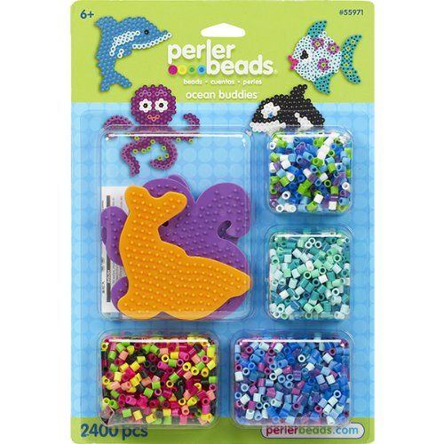 Perler Beads Ocean Buddies Fused Bead Kit Click On The Image For Additional Details It Is Amazon Affiliate Link Boardgamesforkidsidea Bead Kits Fuse Beads