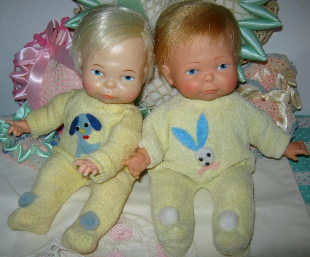 Newborn Thumbelina dolls--I had twins.