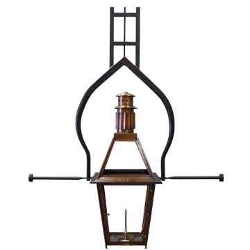 This Bevolo Fixture Can Be Seen On The Beautiful Royal Sonesta Hotel And Other New Orleans Landmarks The Rosetta Standard L Bevolo Copper Lighting Gas Lights
