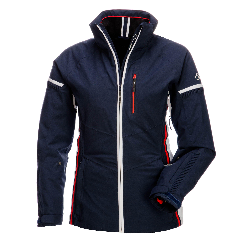 b83a4904c13 Dare2b, Serene 4-way stretch ski-jas dames, Airforce blue ...