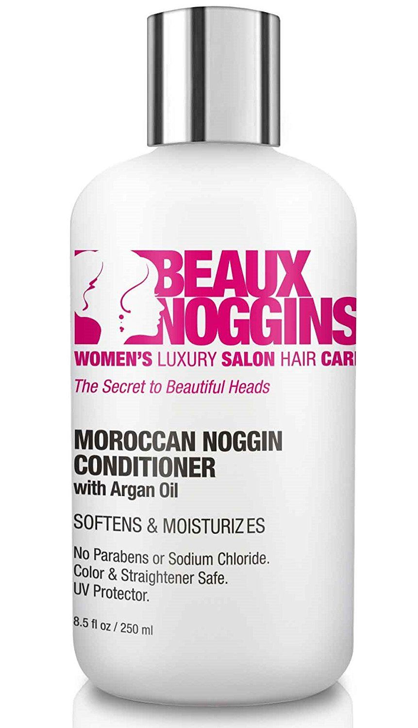 BEST ARGAN OIL CONDITIONER by BEAUX NOGGINS Restores Damaged Hair ...