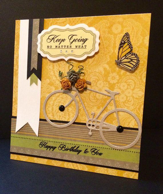 Keep Going Birthday Card