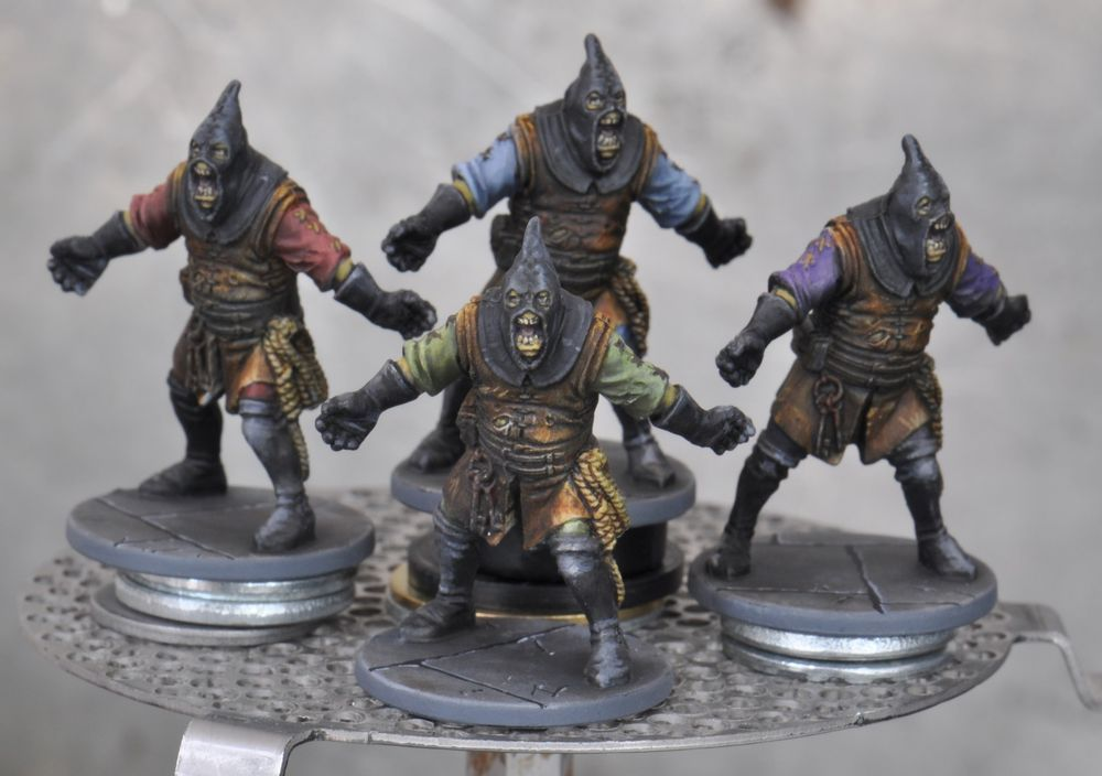 Black Zombicide Notorious Plagued Characters