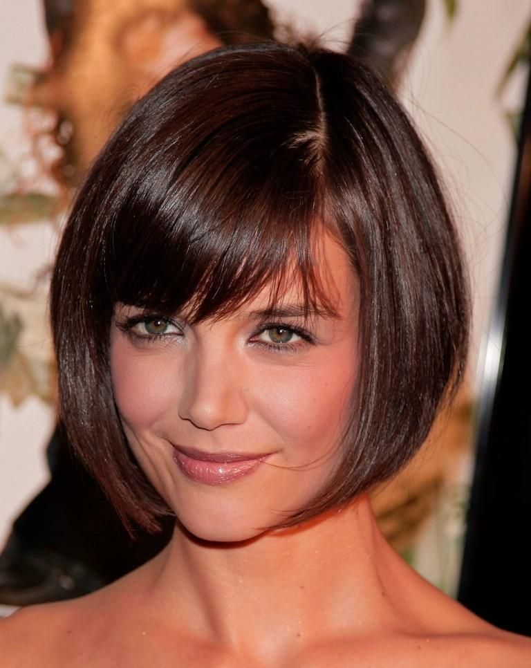 Side Swept Bangs Short Hair