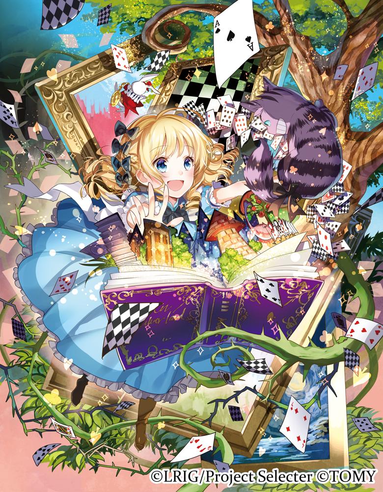 Alice in wonderland looking anime girl Kawaii Princess