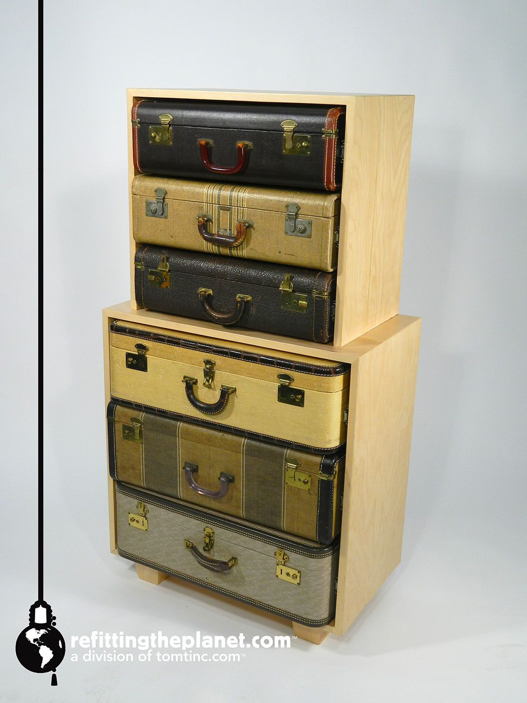 Luggage With Drawers Dresser Chest Of Drawers Luggage Bedroom Furniture Storage