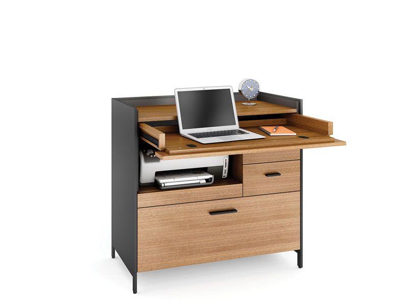Aspect Office Compact Home Office Bdi Furniture Small Computer Desk Compact Office Desk Compact Computer Desk