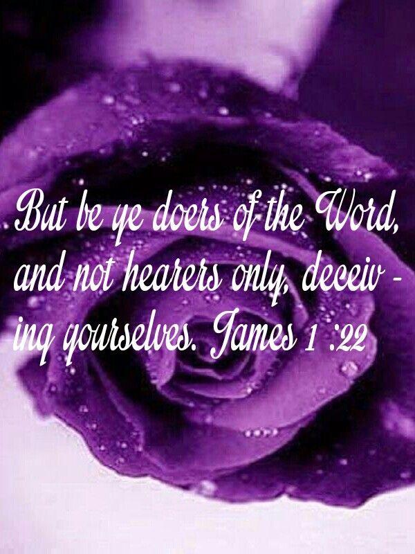 James 1:22 KJV