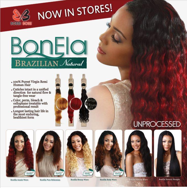 Kali Beauty Bobbi Boss Bonela Brazilian Natural Body Wave 100 Virgin Remi Hair Weave