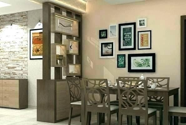 Dining Room Glass Partition Design In 2020 Living Room Partition Modern Room Partitions Modern Room Divider
