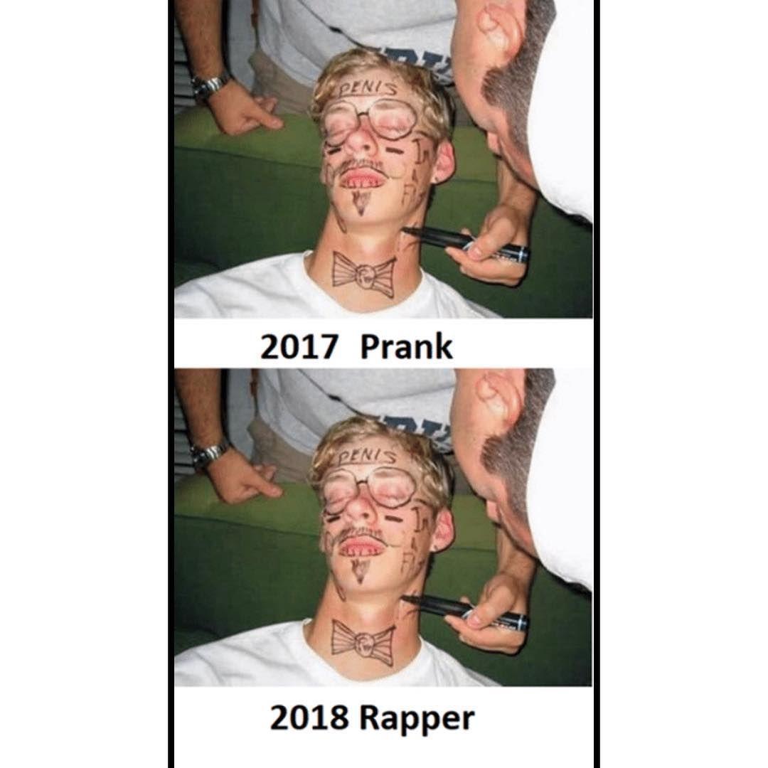 Accurate Inked Inkedmag Tattoo Tattooartist Tattoomeme Rapper Facetattoo Trending Memes Funny Relatable Memes Funny