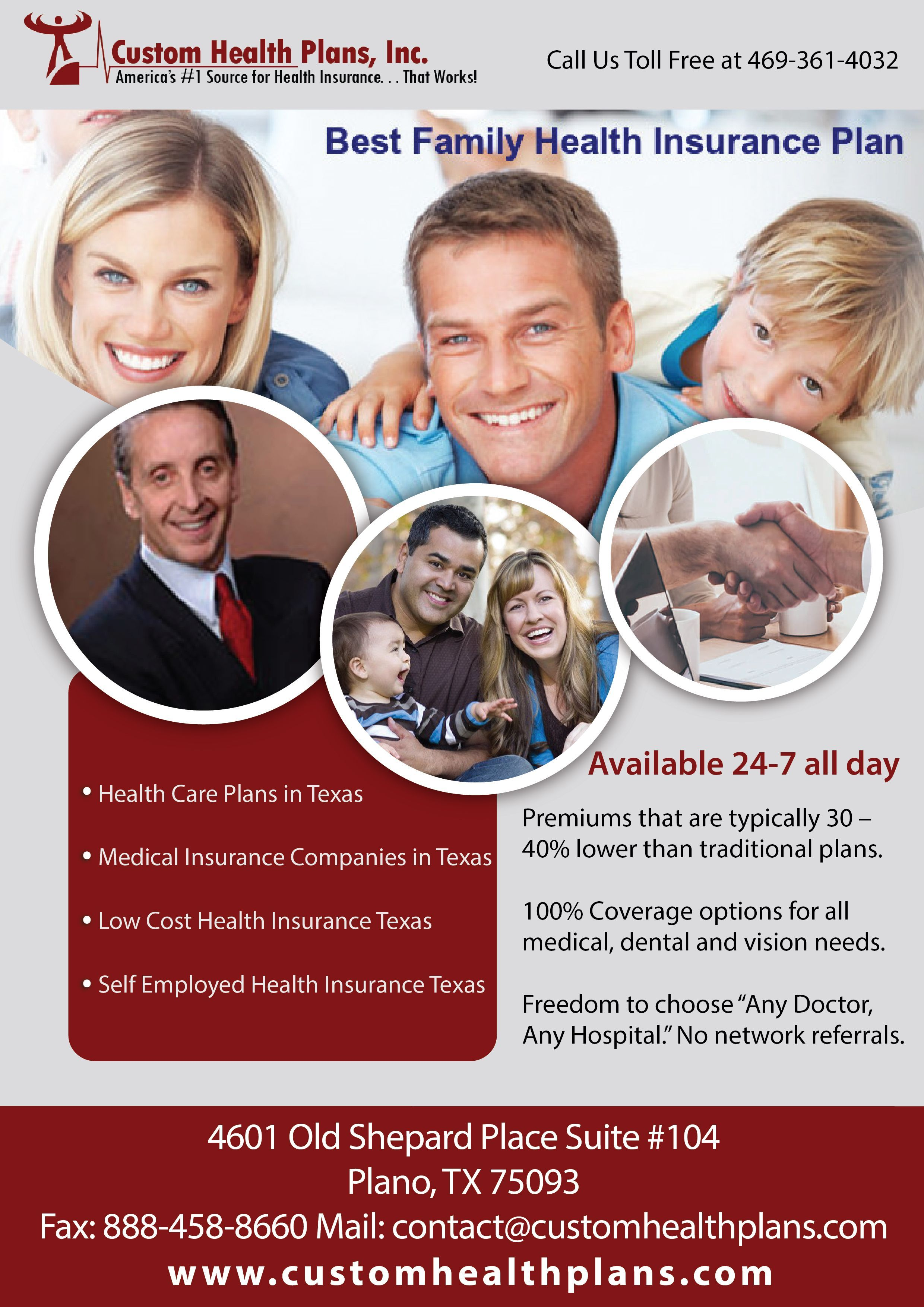 Great Totally Free Self Employed Health Insurance Texas