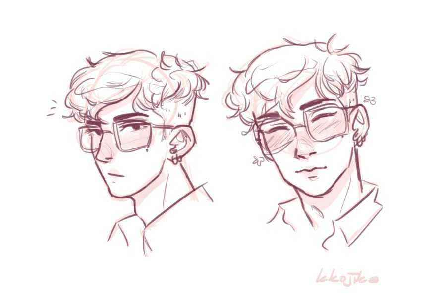 Ren Headshots By Timidoodle On Deviantart In 2020 Boy Hair Drawing Anime Boy Hair Hair Reference