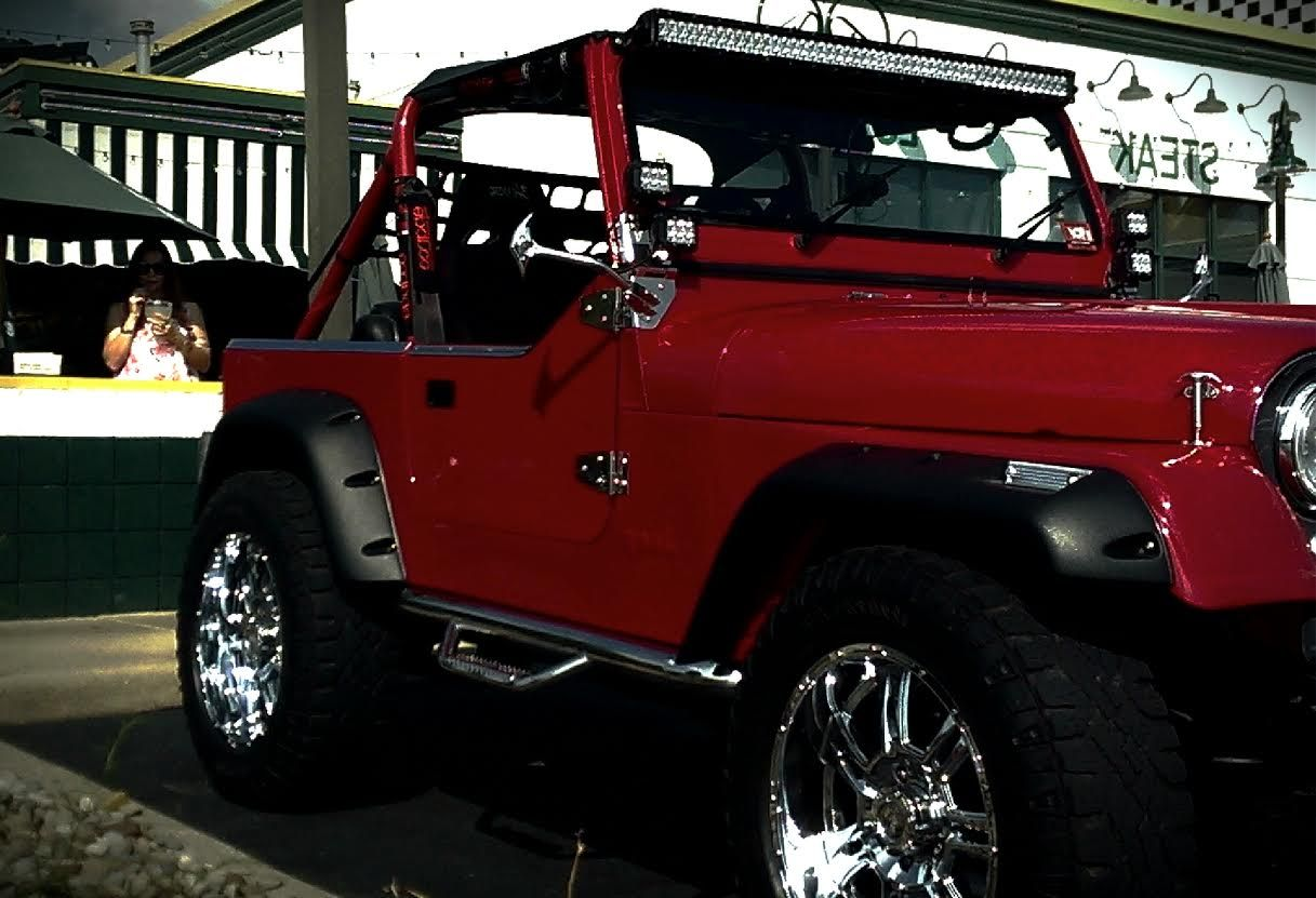 This Jeep Was Built By Benny Garcia From Cleveland Ohio