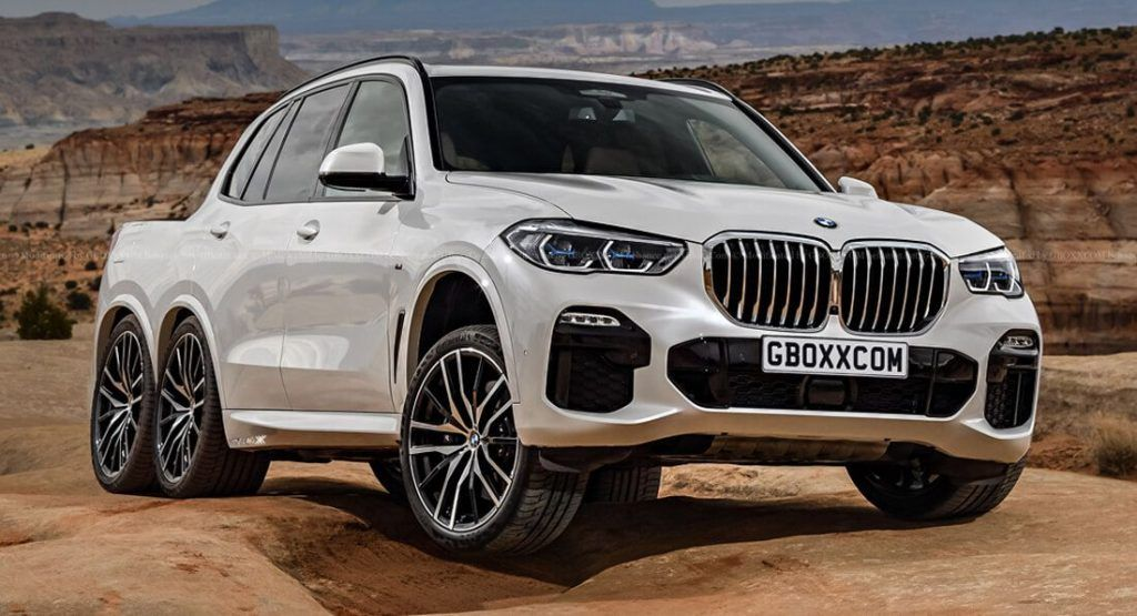 2019 BMW X5 Gets A Virtual SixWheel Pickup Truck