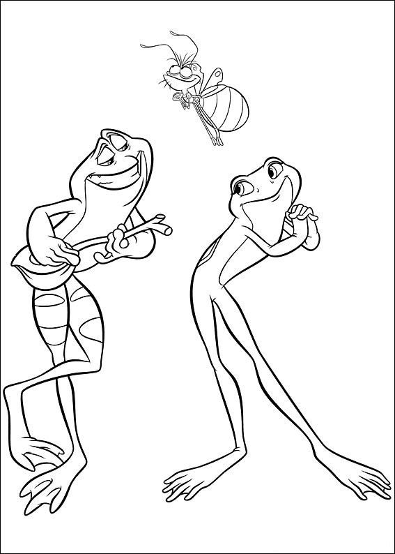 coloring page Princess and the Frog - Princess and the Frog | disney ...