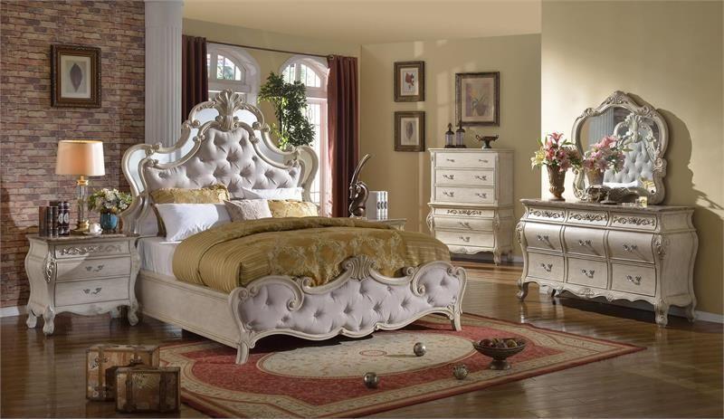 Mcferran B8303 4 Piece Bedroom Set Las Vegas Furniture Online