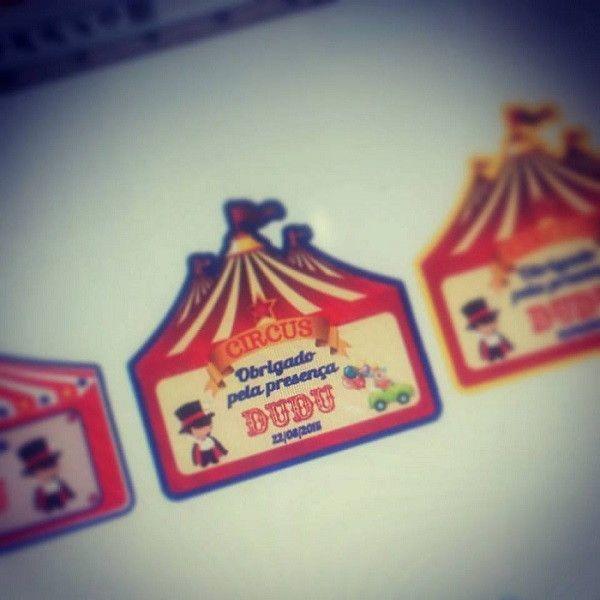 Tag para personalizados no tema Circo <br> <br>Podemos fazer em qualquer tema