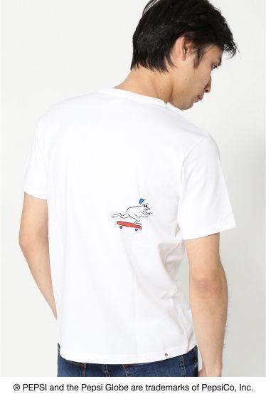 PEPSINAGABA Tシャツ  PEPSINAGABA Tシャツ 3000 PEPSI?B.C STOCK これまでの象徴的な広告キャンペーンを通じてPepsi-ColaはSPORT ART MUSICの世界とのきずなつながりを確立しています 今回のコレクションでは遊び心を取り入れたPepsiのつながりであるARTからインスピレーションを得ています Pepsiをテーマに国内人気アーティストの書き下ろしアートワークを使用したTシャツを発売致します 長場 雄1976年東京生まれ東京造形大学卒業 人物の特徴を捉えたシンプルな線画が持ち味でInstagramに毎日1点作品をアップしている広告書籍パッケージデザインアパレルなど幅広く活動中 モデルサイズ:身長:182cm バスト:91cm ウェスト:72cm ヒップ:91cm 着用サイズ:M