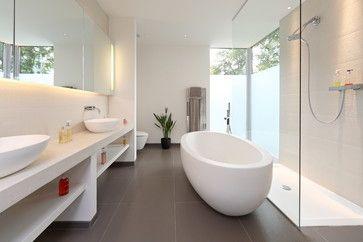 Brixham house - contemporary - Bathroom - South West - Nicolas Tye Architects