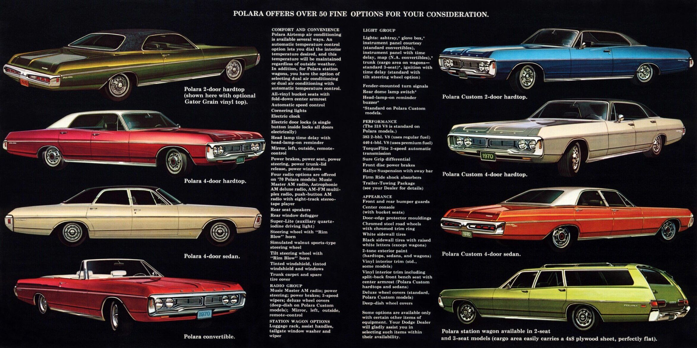 1970 Dodge Polara Dodge Car Brochure Brochure