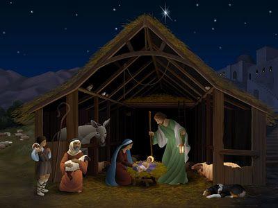 Christmas Nativity Scene What Is Christmas Christmas Desktop Wallpaper Christmas Screen Savers