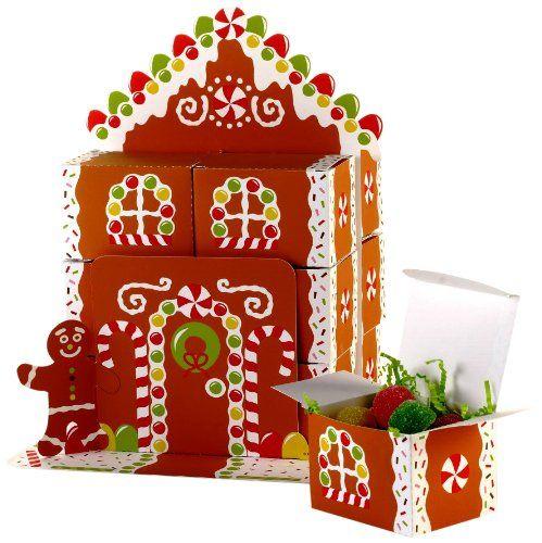 Creative Converting Gingerbread House Favor Box Centerpiece Creative Converting http://www.amazon.com/dp/B0083T4N6W/ref=cm_sw_r_pi_dp_5aZsub09N6KZ2
