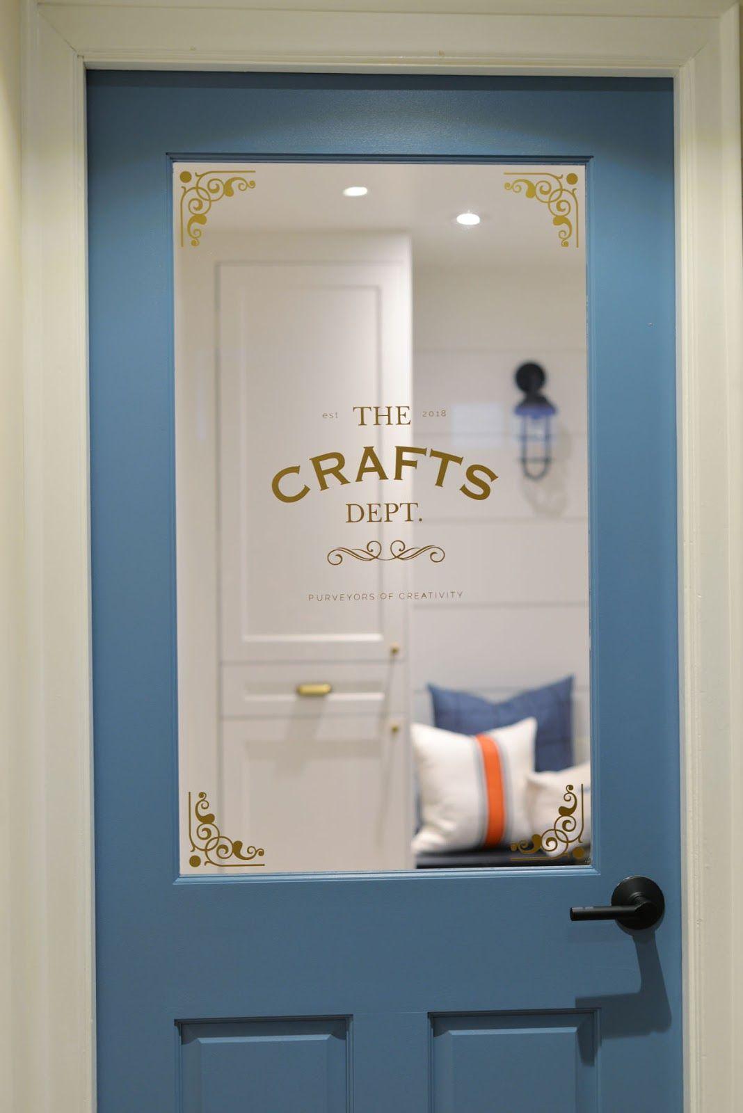 Rambling Renovators: #ProjectCraftsDept: A Craft Room Door