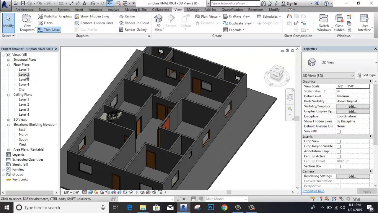 How To Create Floor And How To Use Callout Command In Revit Akash