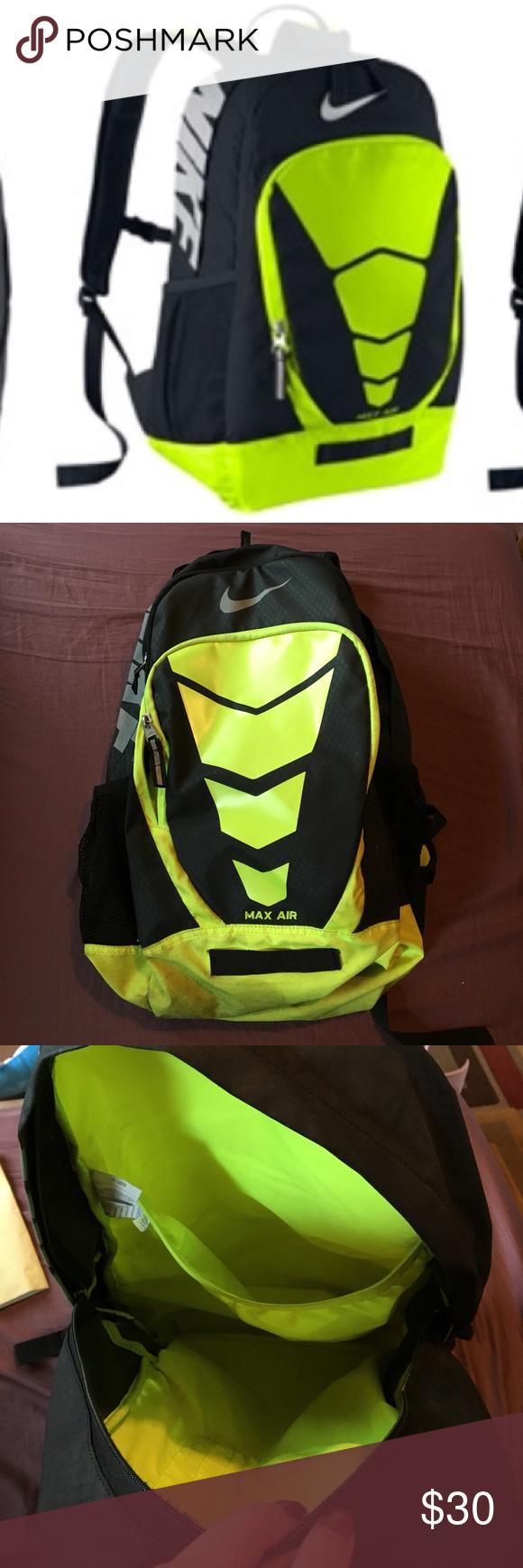 Neon Yellow Backpack Nike- Fenix Toulouse Handball 2f991fa16290d